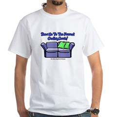 Casting Couch White T-Shirt