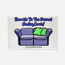 Casting Couch Rectangle Magnet