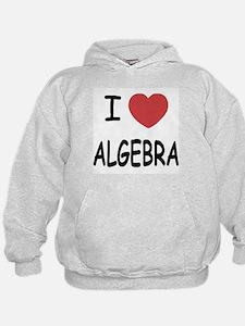 I heart algebra Hoodie