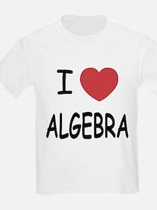 I heart algebra T-Shirt