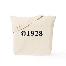 Unique 1928 Tote Bag