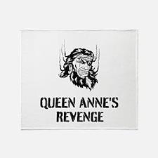 Queen Anne's Revenge Throw Blanket