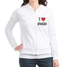 I heart spanish Fitted Hoodie