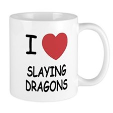 I heart slaying dragons Mug