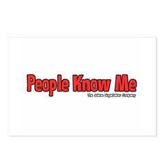 People Know Me Postcards (Package of 8)