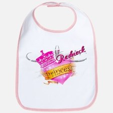 REDNECK PRINCESS (HEART) Bib