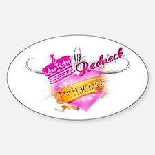 REDNECK PRINCESS (HEART) Decal