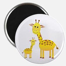 """Little & Big Giraffes 2.25"""" Magnet (10 pack)"""