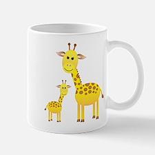 Little & Big Giraffes Mug