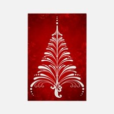 Elegant Christmas Tree Magnet