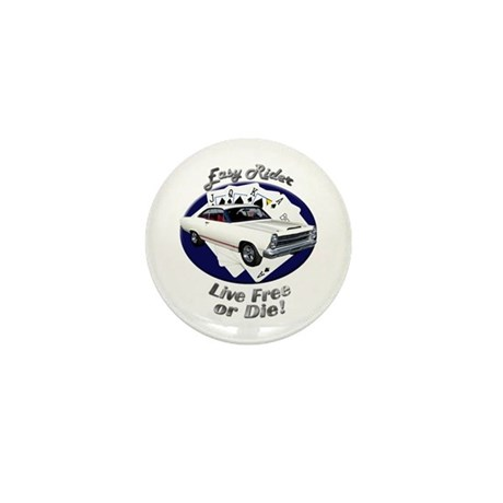 Ford Fairlane GT Mini Button (10 pack)