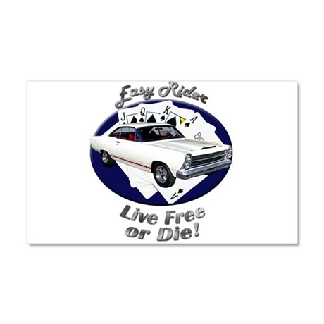 Ford Fairlane GT Car Magnet 20 x 12