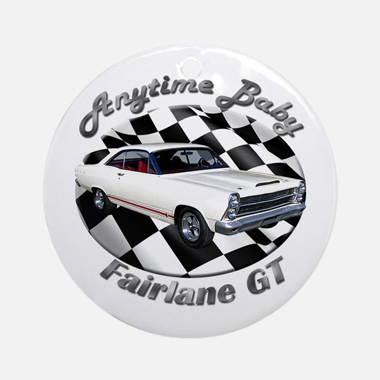 Ford Fairlane GT Ornament (Round)