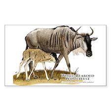 White-Bearded Wildebeest Decal