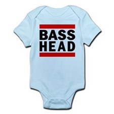 BASS HEAD. Infant Bodysuit