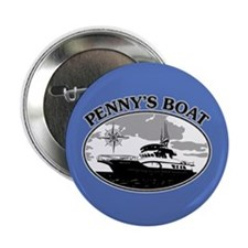 """PENNY'S BOAT 2.25"""" Button"""