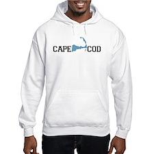 Cape Cod MA - Map Design Hoodie