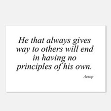 Aesop quote 15 Postcards (Package of 8)