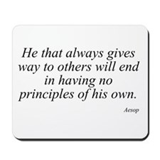 Aesop quote 15 Mousepad