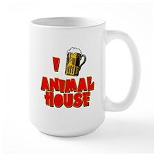 I Love Animal House Beer Mug