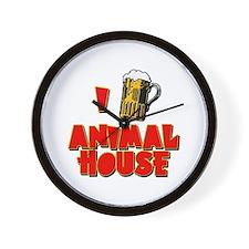 I Love Animal House Beer Wall Clock