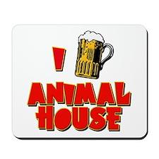 I Love Animal House Beer Mousepad