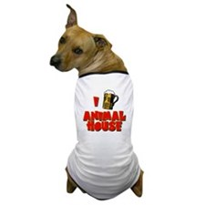 I Love Animal House Beer Dog T-Shirt