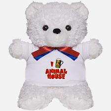 I Love Animal House Beer Teddy Bear