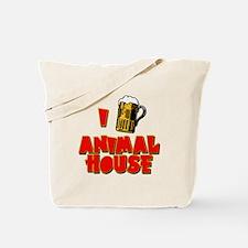 I Love Animal House Beer Tote Bag