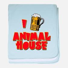 I Love Animal House Beer baby blanket