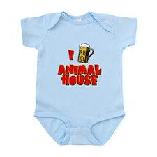 I Love Animal House Beer Infant Bodysuit