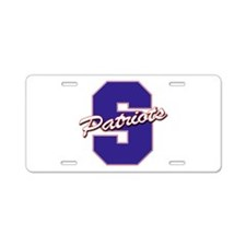 Cute Parkersburg Aluminum License Plate