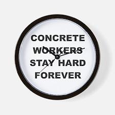 Cute Worker Wall Clock