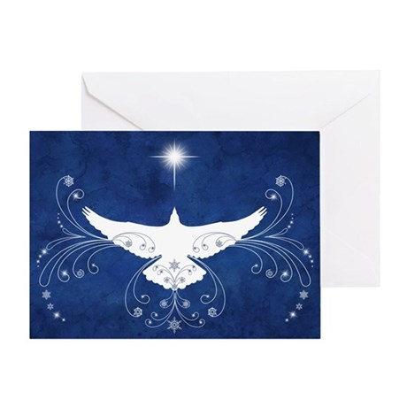 Heavenly Dove Greeting Card