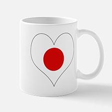 Japan Heart Mug