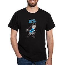 Husky Dog Boxing Champ T-Shirt