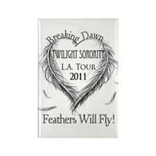 Cute Breaking dawn premiere Rectangle Magnet
