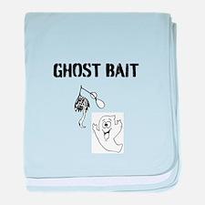 Ghost Bait baby blanket