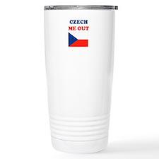 Cute Czech me out Travel Mug