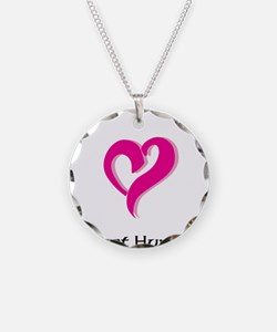 I Love Ghost Hunting Necklace
