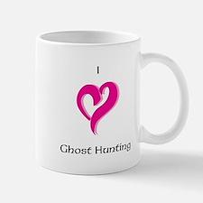 I Love Ghost Hunting Mug