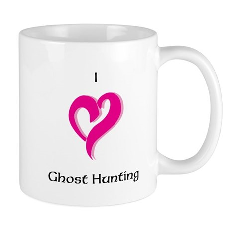 I Love Ghost Hunting Mug