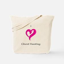 I Love Ghost Hunting Tote Bag