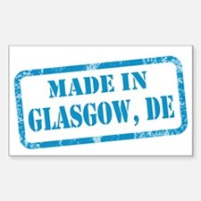 MADE IN GLASGOW Decal