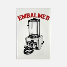 Funny Embalmer Rectangle Magnet