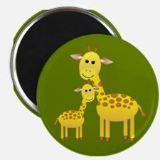 Little & Big Giraffes Magnet