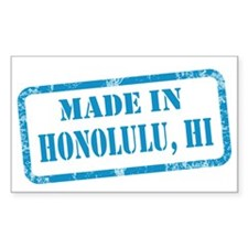 MADE IN HONOLULU Decal