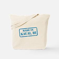 MADE IN KAUAI Tote Bag