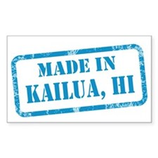 MADE IN KAILUA Decal