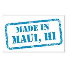 MADE IN MAUI Decal